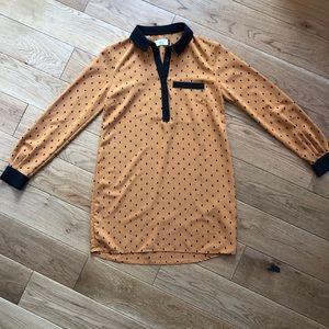Dolce vita polka dot tunic small EUC